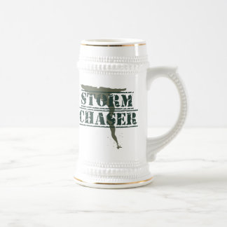 Storm Chaser Rubber Stamp and Funnel Beer Stein