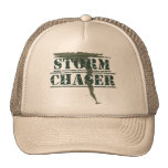 Storm Chaser Rubber Stamp and Funnel Mesh Hats