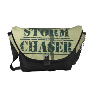 Storm Chaser Rubber Stamp and Funnel Messenger Bags