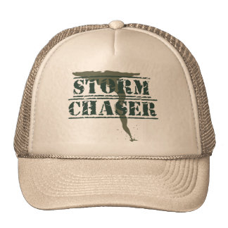 Storm Chaser Rubber Stamp and Funnel Trucker Hat