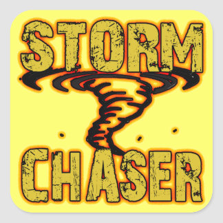 Storm Chaser Square Sticker