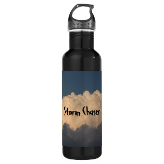Storm chaser stainless steel water bottle