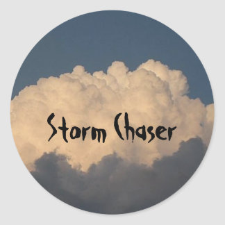 Storm chaser stickers