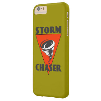 Storm Chaser Tornado and Red Triangle Barely There iPhone 6 Plus Case