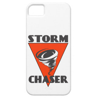 Storm Chaser Tornado and Red Triangle iPhone 5 Cases