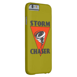 Storm Chaser Tornado and Red Triangle Barely There iPhone 6 Case