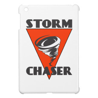 Storm Chaser Tornado and Red Triangle iPad Mini Case