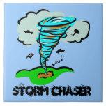 Storm Chaser Tornado Twister Ceramic Tile
