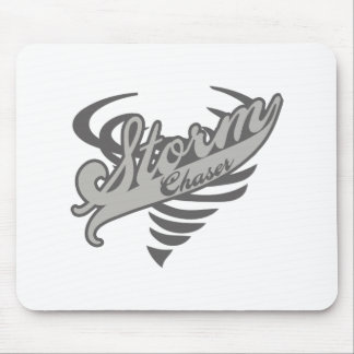 Storm Chaser Tornado Twister Logo Mouse Pad