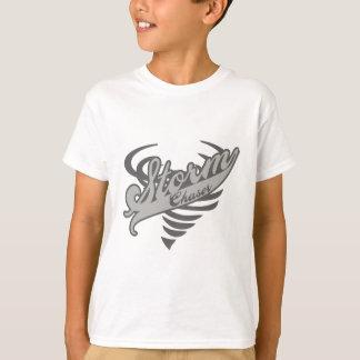 Storm Chaser Tornado Twister Logo T-Shirt