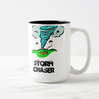 Storm Chaser Tornado Twister Two-Tone Coffee Mug