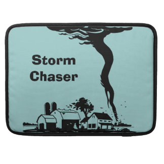 Storm Chaser Tornado Twister Weather Meteorology MacBook Pro Sleeves