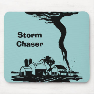 Storm Chaser Tornado Twister Weather Meteorology Mouse Pad