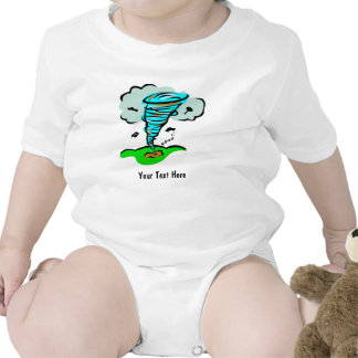 Storm Chaser Tornado Twister Weather Meteorology Baby Bodysuit