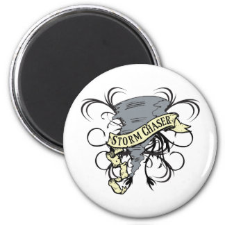 Storm Chasers 2 Inch Round Magnet