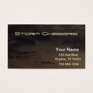 Storm Chasers Business Card
