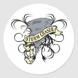 Storm Chasers Classic Round Sticker