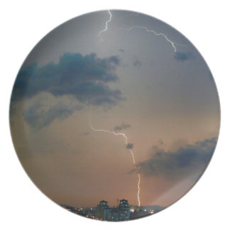 Storm City Blitze Party Plate