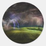 Storm Classic Round Sticker