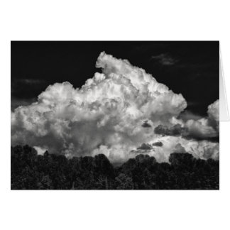Storm Cloud Stationery Note Card