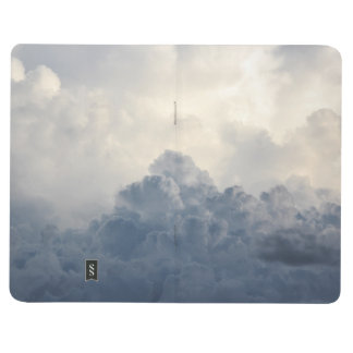 Storm Cloud Heavenly White Clouds In Sky Journal