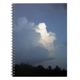 Storm Cloud Notebook