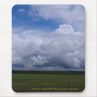 Storm Clouds at a Distance Mouse Pad