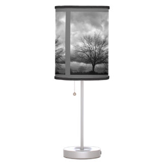 Storm Clouds Bare Tree - Lampshade