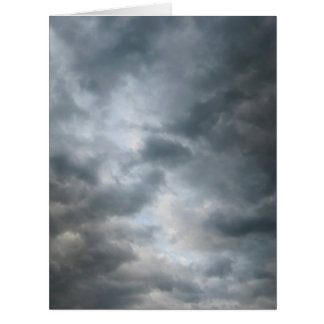 Storm Clouds Breaking Big Greeting Card