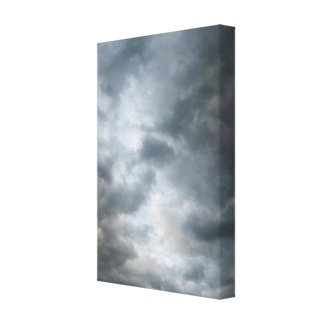 Storm Clouds Breaking Canvas Print