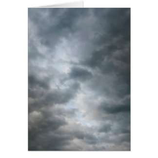 Storm Clouds Breaking Card