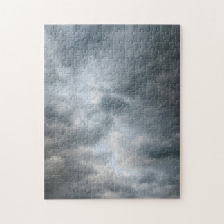 Storm Clouds Breaking Jigsaw Puzzle