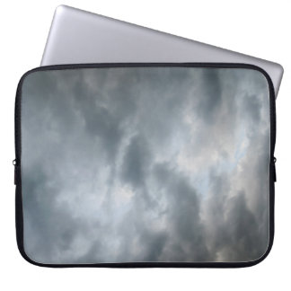 Storm Clouds Breaking Laptop Sleeves