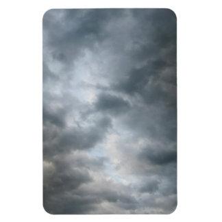 Storm Clouds Breaking Vinyl Magnets