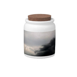 Storm Clouds Candy Dishes