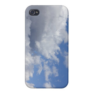 Storm Clouds in a Blue Sky iPhone 4/4S Cover