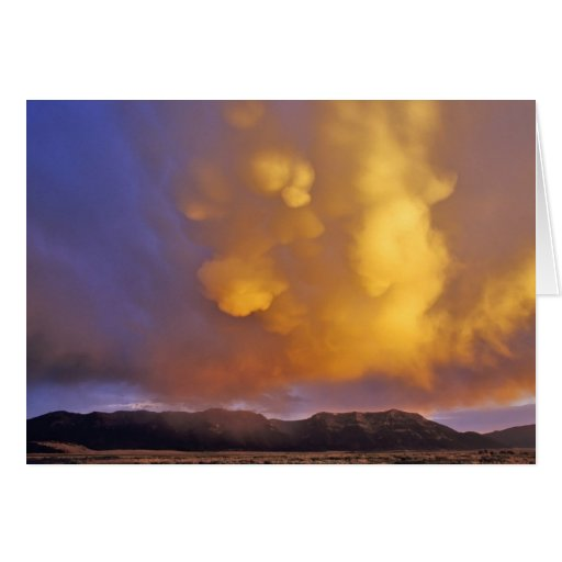Storm Clouds in the Centennial Range in Montana Card