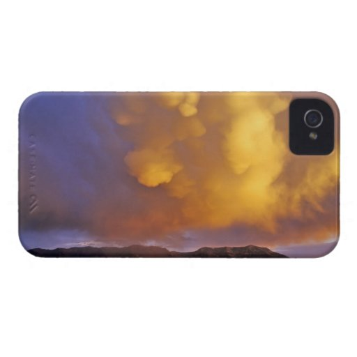 Storm Clouds in the Centennial Range in Montana Blackberry Bold Cases