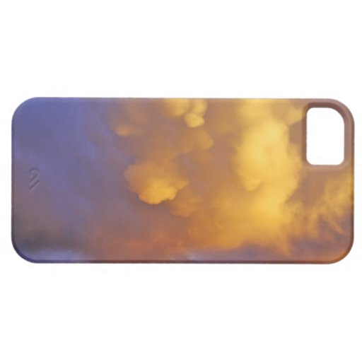 Storm Clouds in the Centennial Range in Montana iPhone 5 Case