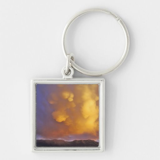 Storm Clouds in the Centennial Range in Montana Keychain