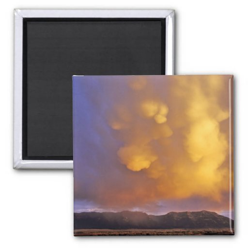Storm Clouds in the Centennial Range in Montana Fridge Magnets