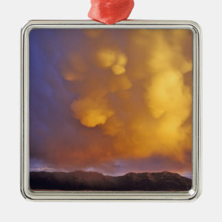Storm Clouds in the Centennial Range in Montana Metal Ornament