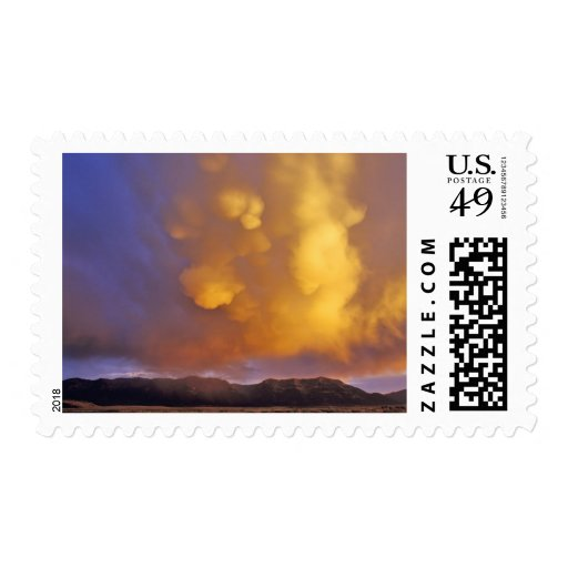 Storm Clouds in the Centennial Range in Montana Postage Stamp