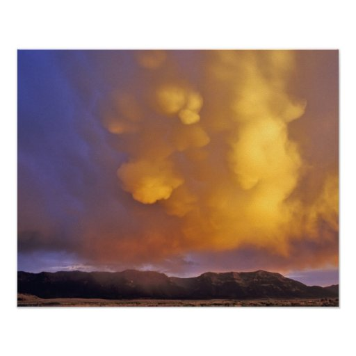 Storm Clouds in the Centennial Range in Montana Posters