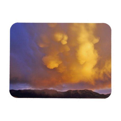 Storm Clouds in the Centennial Range in Montana Rectangular Magnet