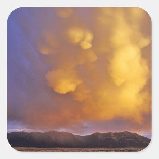 Storm Clouds in the Centennial Range in Montana Sticker