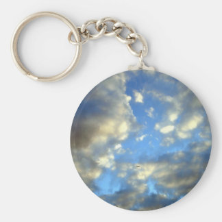 Storm Clouds Key Chain