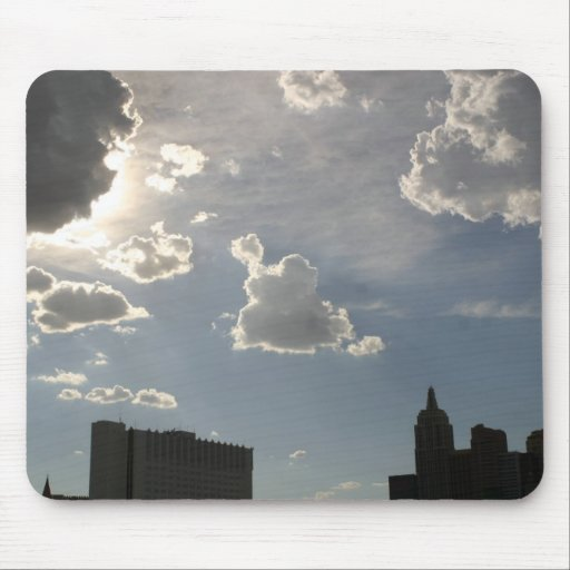 Storm Clouds Over Skyline Mouse Pads
