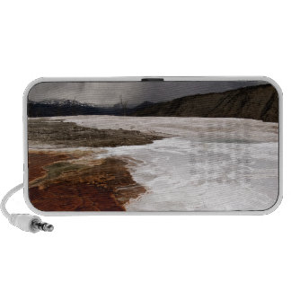 STORM CLOUDS OVER YELLOWSTONE NATIONAL PARK iPod SPEAKER