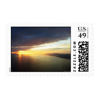 Storm Clouds Pacific Postage Stamp